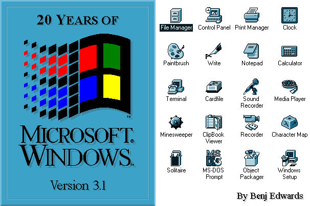 How Windows Looks Like 20 Years Before
