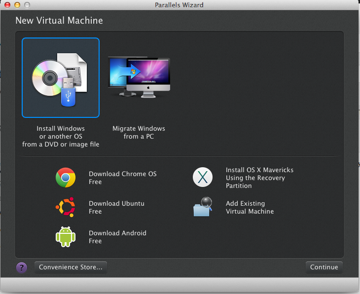 Install Android on Mac